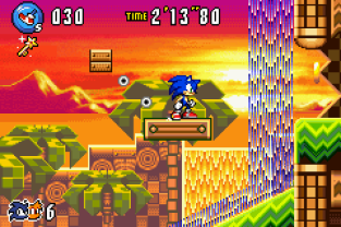 Sonic Advance 3 GBA 100