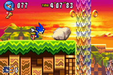 Sonic Advance 3 GBA 109