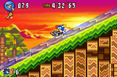 Sonic Advance 3 GBA 110