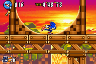Sonic Advance 3 GBA 111
