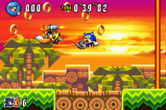 Sonic Advance 3 GBA 121