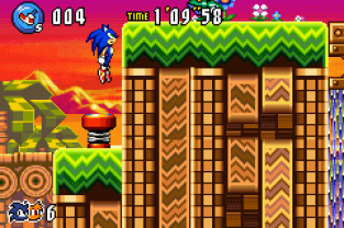Sonic Advance 3 GBA 122