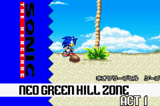 Sonic Advance GBA 012