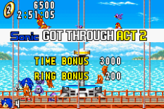 Sonic Advance GBA 055