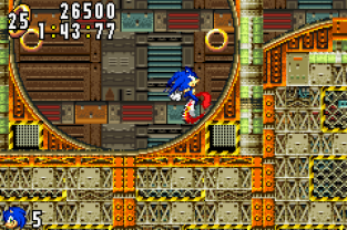 Sonic Advance GBA 086