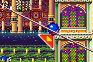 Sonic Advance GBA 100