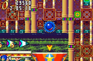 Sonic Advance GBA 119