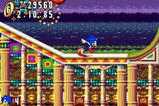 Sonic Advance GBA 121