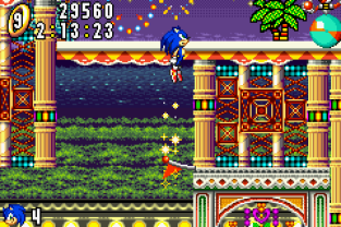 Sonic Advance GBA 122