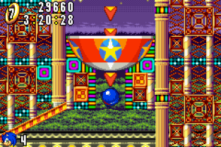 Sonic Advance GBA 130