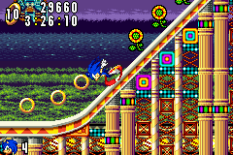 Sonic Advance GBA 131