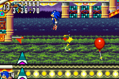 Sonic Advance GBA 132