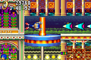 Sonic Advance GBA 133