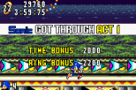 Sonic Advance GBA 136