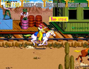 Sunset Riders Arcade 56