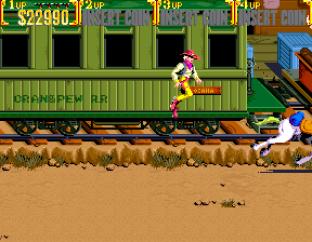 Sunset Riders Arcade 64