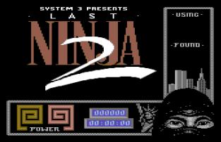 The Last Ninja 2 C64 01