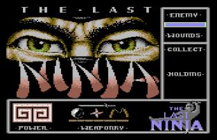 The Last Ninja C64 01