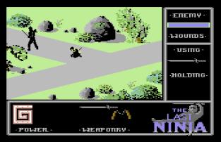 The Last Ninja C64 09
