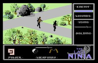 The Last Ninja C64 12