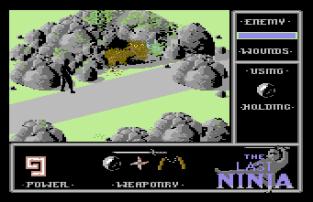 The Last Ninja C64 20