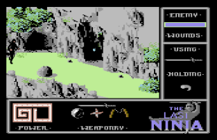 The Last Ninja C64 31