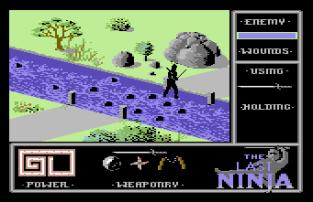 The Last Ninja C64 34