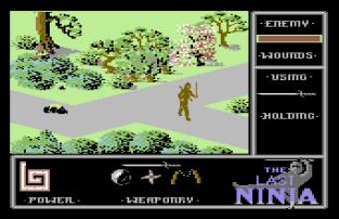 The Last Ninja C64 45