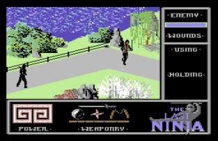 The Last Ninja C64 56