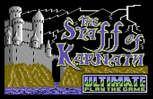 The Staff of Karnath C64 01