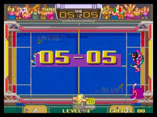 Windjammers Neo Geo 09