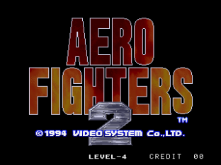 Aero Fighters 2 Neo Geo 001