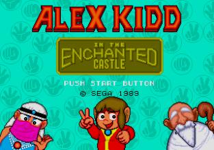 Alex Kidd in the Enchanted Castle Megadrive 001