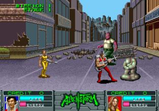 Alien Storm Arcade 012