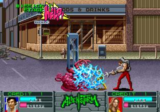 Alien Storm Arcade 020