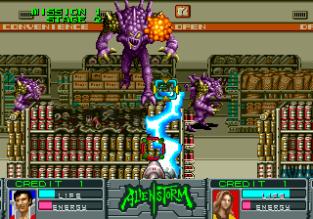 Alien Storm Arcade 023