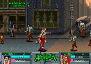 Alien Storm Arcade 034
