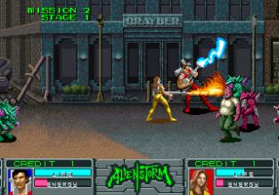 Alien Storm Arcade 042