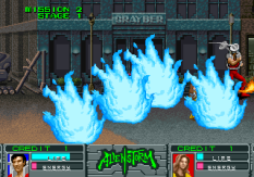 Alien Storm Arcade 044