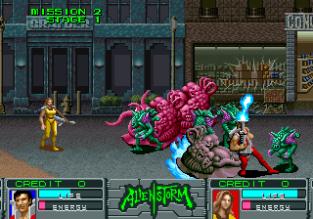 Alien Storm Arcade 045