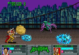 Alien Storm Arcade 053
