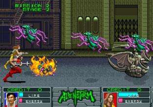 Alien Storm Arcade 064