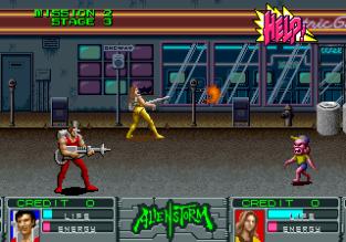 Alien Storm Arcade 067