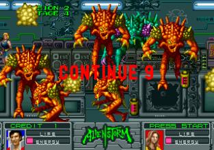 Alien Storm Arcade 075
