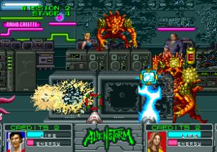Alien Storm Arcade 078