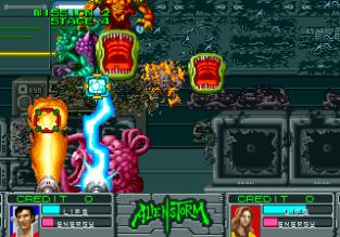 Alien Storm Arcade 086