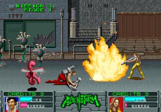 Alien Storm Arcade 100