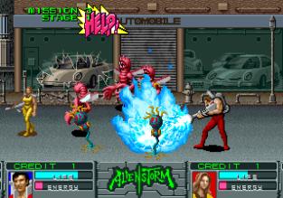 Alien Storm Arcade 108
