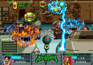 Alien Storm Arcade 111