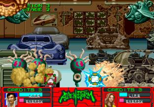 Alien Storm Arcade 119